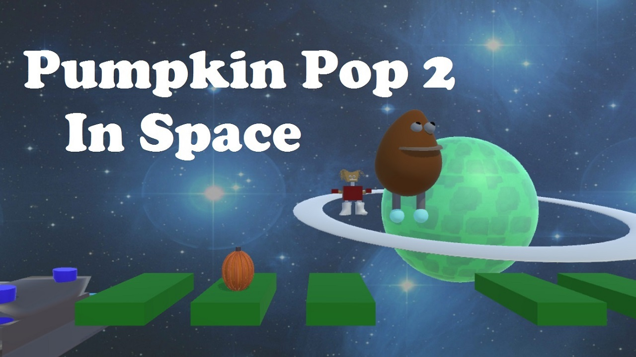 Pumpkin pop 2 in space Ramplay